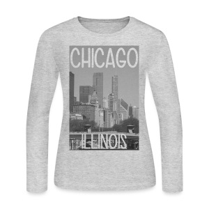 Big Chi Pic - Women's Long Sleeve Jersey T-Shirt