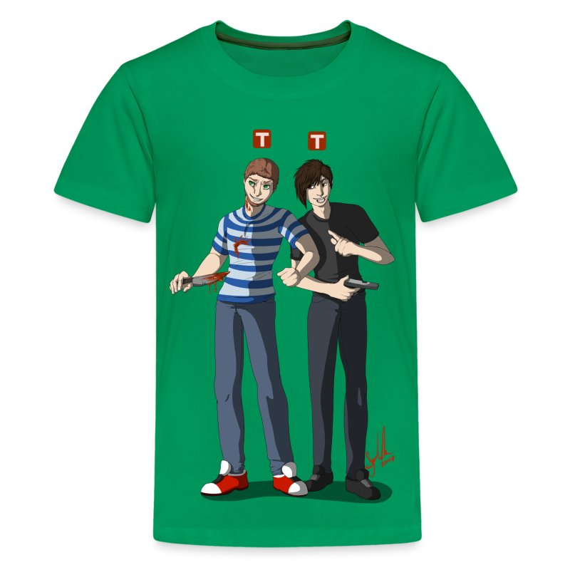 dlivedesign5.png - Kids' Premium T-Shirt