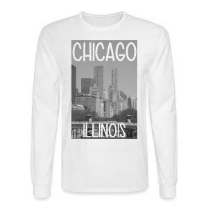 Big Chi Pic - Men's Long Sleeve T-Shirt