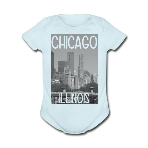 Big Chi Pic - Short Sleeve Baby Bodysuit