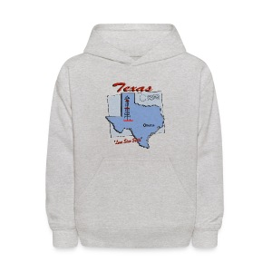 Texas Hooded Sweatshirt For Kids - Kids' Hoodie