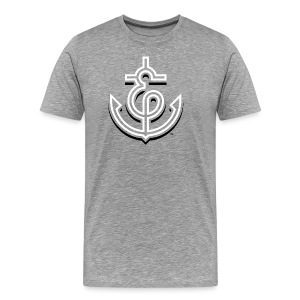 Anchor + Ampersand 3D - Men's - Men's Premium T-Shirt