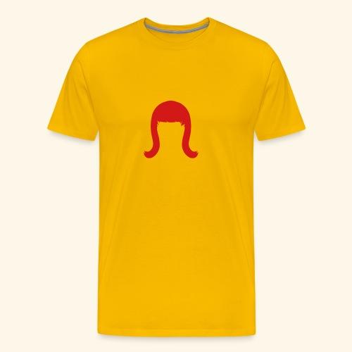 Miss Coco Peru Wig Logo Tee - Men's Premium T-Shirt