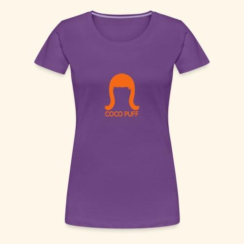 Coco Puff Logo - Women's Premium T-Shirt - Women's Premium T-Shirt