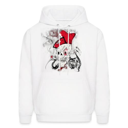 Men's 'Blowin KK' Skull Hoodie - Men's Hoodie