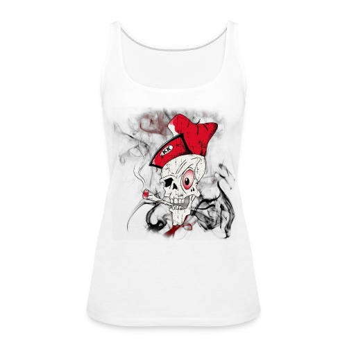 Women's 'Blowin KK' Skull Tank - Women's Premium Tank Top