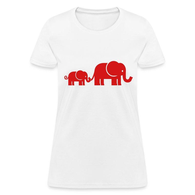 Elephant t shirt spreadshirt for Elephant t shirt women s