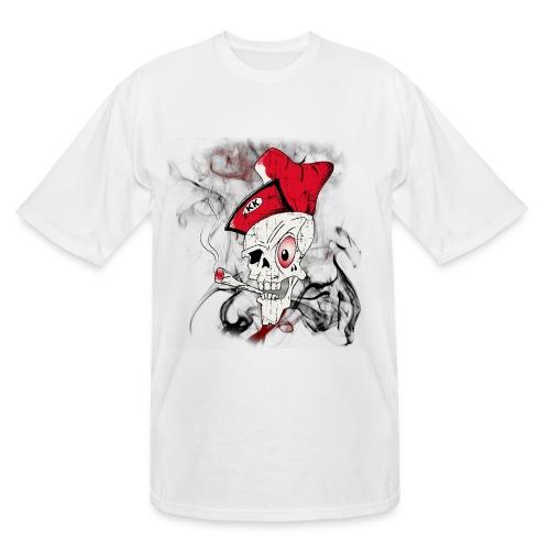 Men's 'Blowin KK' XXL Skull T-Shirt - Men's Tall T-Shirt