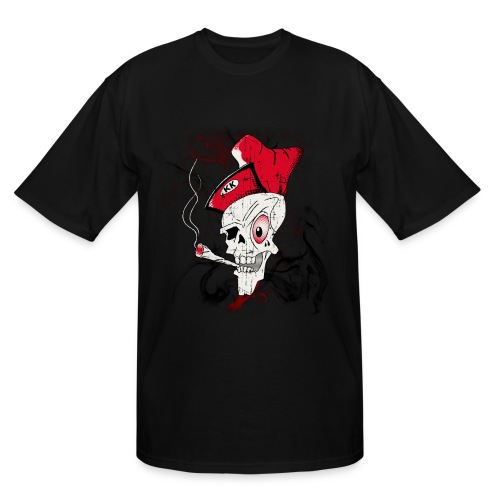 Men's 'Blowin KK' XXL Skull T-Shirt - Men's Tall T-Shirt
