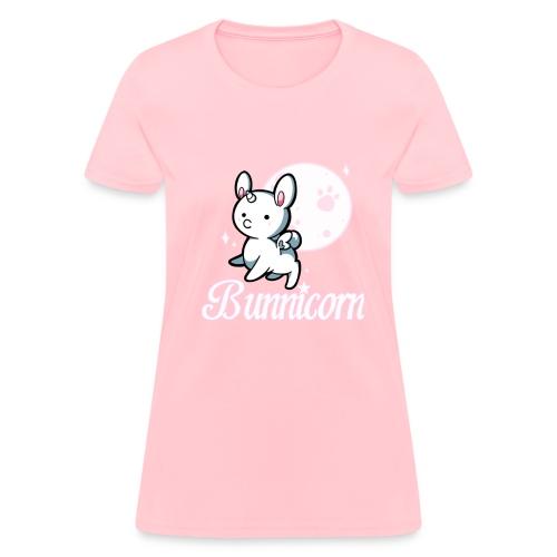 bunnicorn shirt.png - Women's T-Shirt