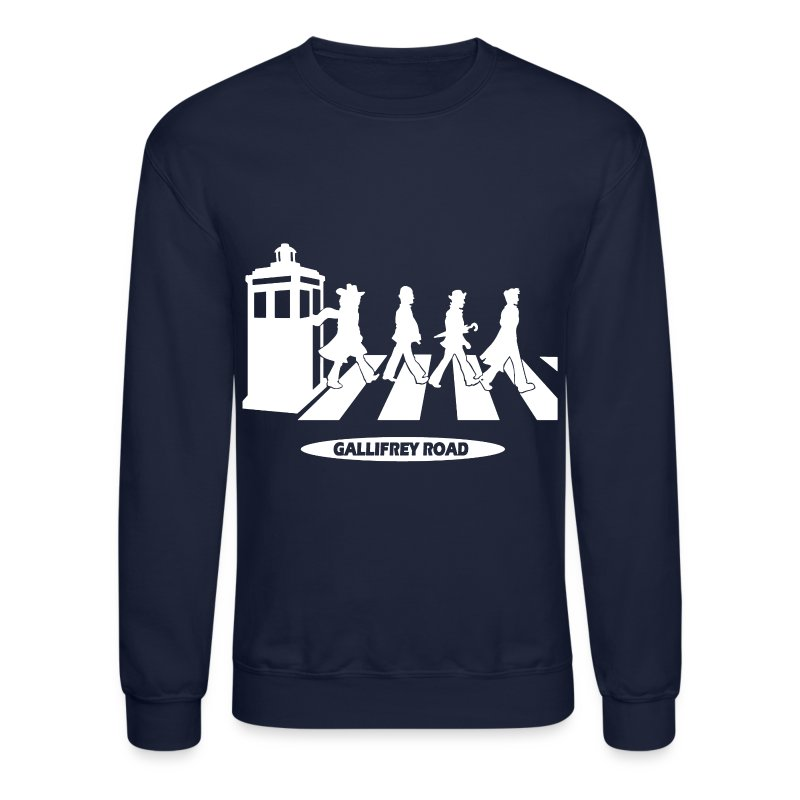 Gallifrey Road - Crewneck Sweatshirt