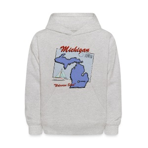 Michigan Hooded Sweatshirt For Kids - Kids' Hoodie