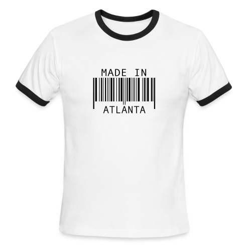 Made in Atl Tee - Men's Ringer T-Shirt