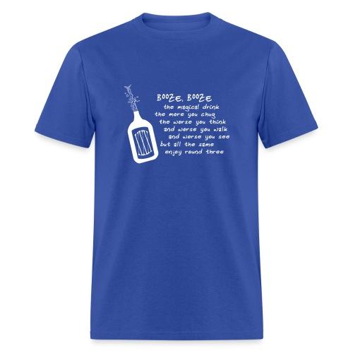 Booze (Men's Shirt) - Men's T-Shirt