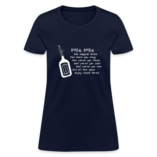 Booze (Women's Shirt) - Women's T-Shirt
