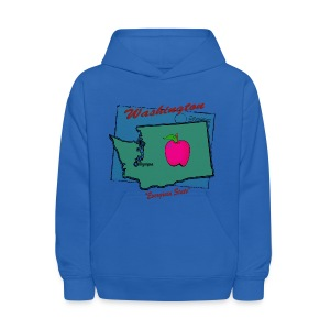Washington Hooded Sweatshirt For Kids - Kids' Hoodie