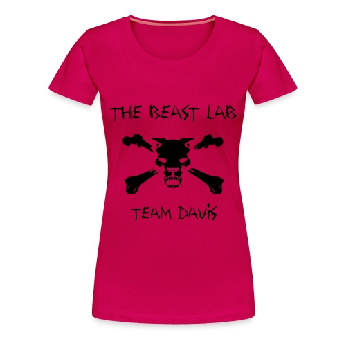Team Davis, Women's Tee, Black - Women's Premium T-Shirt