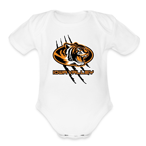 IV Mural Toddler One Piece - Organic Short Sleeve Baby Bodysuit