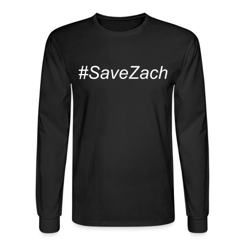 #SaveZach Longsleeve T-Shirt - Men's Long Sleeve T-Shirt