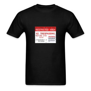 Area 51 Panel - Men's T-Shirt