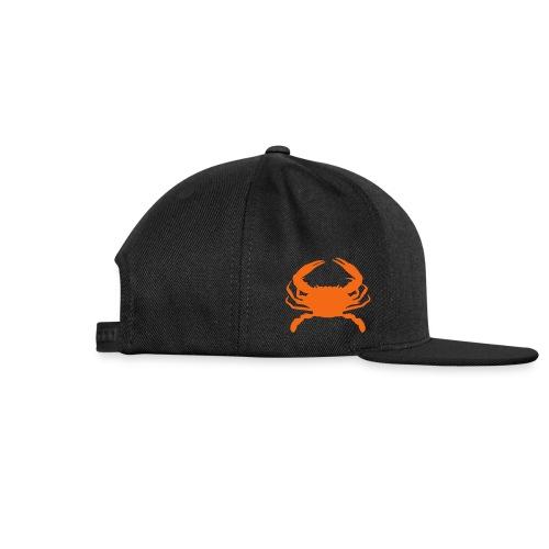 crab hat - Snap-back Baseball Cap