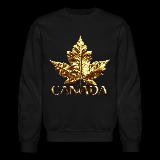 Men's Canada Souvenir Shirt Gold Medal Canada Souvenir Sweatshirt