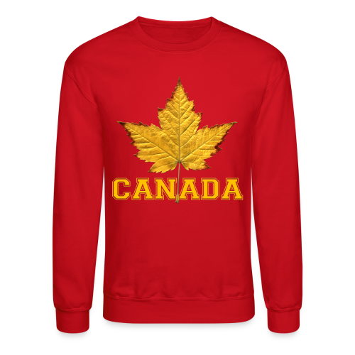 Canada Shirts Men's Varsity Canada Souvenir Sweatshirt - Crewneck Sweatshirt