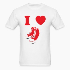 IHeartSneakerRed T-Shirts