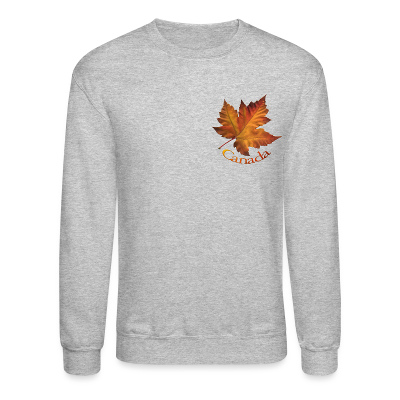 Canada Souvenir Men's Shirt Canada Maple Leaf Sweatshirt - Crewneck Sweatshirt