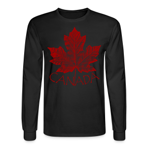Canada Souvenir Men's Shirts Retro Canada Flag Shirts - Men's Long Sleeve T-Shirt