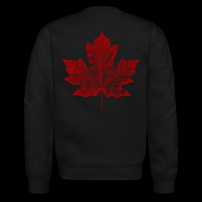 Canada Souvenir Sweatshirt Retro Canada Flag Sweatshirts
