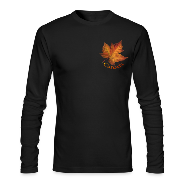Canada Souvenir Men's Shirts Maple Leaf Long Sleeve T-shirt