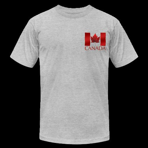 Men's Canada Flag T-shirt Canada Souvenir T-shirt for Men - Men's Fine Jersey T-Shirt