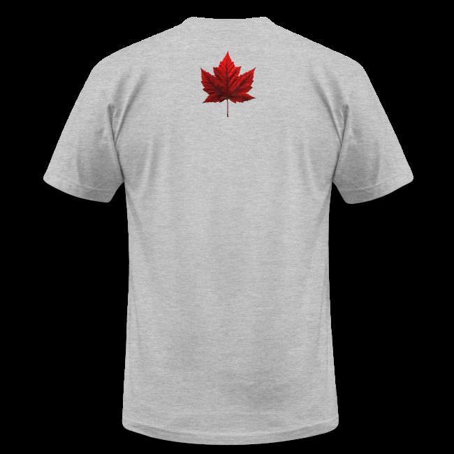 Men's Canada Flag T-shirt Canada Souvenir T-shirt for Men