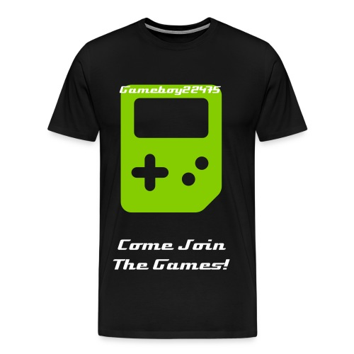 Gameboy22475 tee - Men's Premium T-Shirt