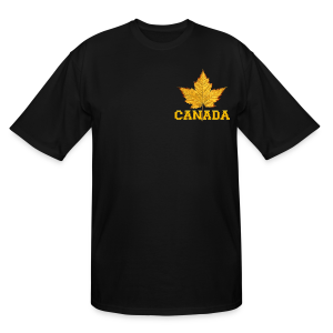 Canada T-shirt Men's Plus Size Canada Souvenir T-shirts - Men's Tall T-Shirt