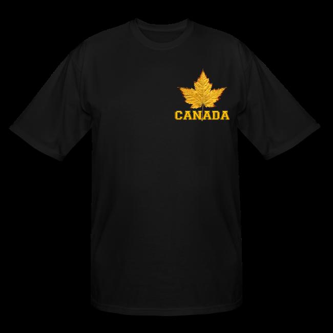 Canada T-shirt Men's Plus Size Canada Souvenir T-shirts