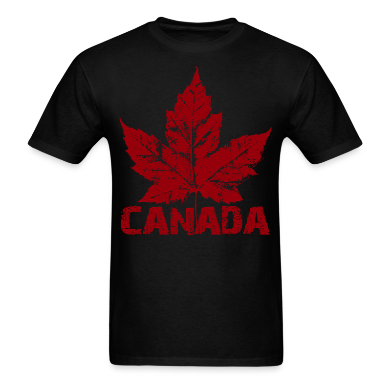 Cool Canada Souvenir T-shirt Mens Retro Canada T-shirt - Men's T-Shirt