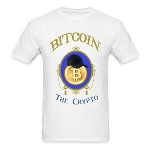 Bitcoin The Crypto T Shirt - Men's T-Shirt