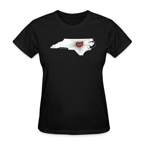 Raleigh Love NC State Wolfpack Edition - Discount Tee - Women's T-Shirt