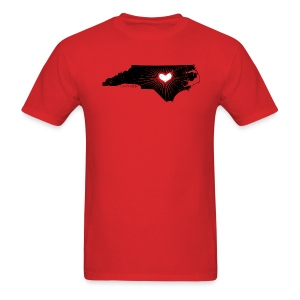 Raleigh Love NC State Wolfpack Edition - Discount Tee - Men's T-Shirt