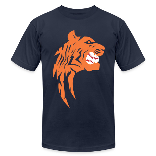 Detroit Tigers Baseball - Men's Fine Jersey T-Shirt