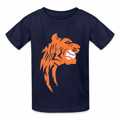 Detroit Tigers Baseball - Kids' T-Shirt