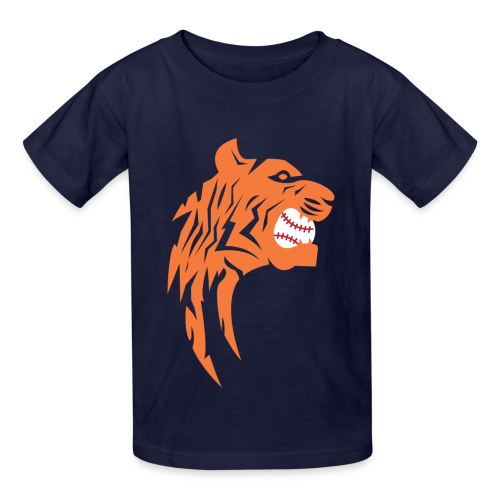 Detroit Tigers Baseball - Kids' T-Shirt