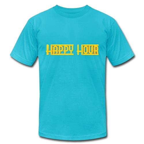 Happy Hour Mens Logo Tee - Men's Jersey T-Shirt