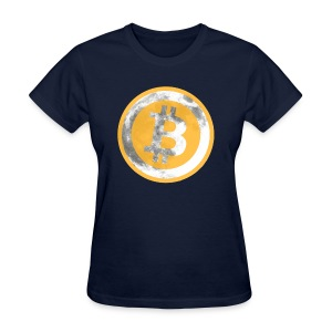 Bitcoin To Da Moon T Shirt - Women's T-Shirt