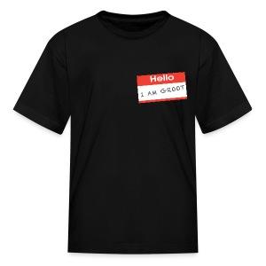 Hello I Am Groot Name Tag - Kids Shirt - Kids' T-Shirt