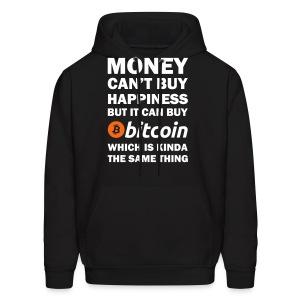 Bitcoin Happy Money Hoodie - Men's Hoodie