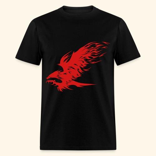 Attacking Hawk - Men's T-Shirt