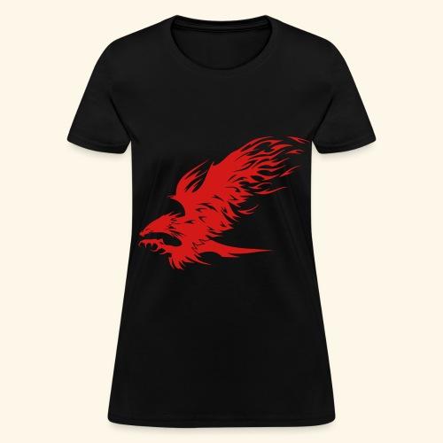 Attacking Hawk - Women's T-Shirt